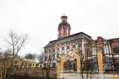 Alexandro-Nevskay Lavra in St.Peterburg Stock Photos