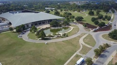 Palmer Events Center Aerial Stock Footage