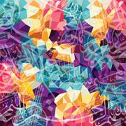 Arabic islam calligraphy almighty god allah most gracious theme - muslim fait Piirros