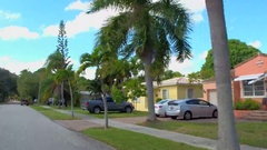 Real Estate residential neighborhood Stock Footage