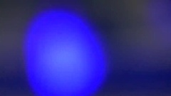 Abstract blue glowing substance Stock Footage