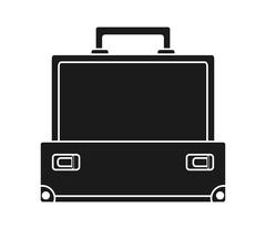Baggage of travel and tourism  concept Stock Illustration