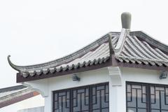 Traditional Chinese Roof Stock Photos
