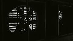 Dark Garage Ventilation Fan Stock Footage