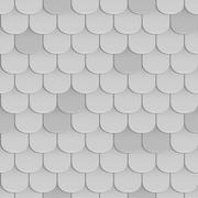 Shingles roof seamless pattern Stock Illustration
