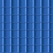 Tiled roof seamless pattern Stock Illustration