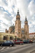 Holy Trinity Romanian Orthodox Cathedral Sibiu, Romania Stock Photos