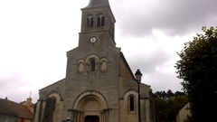 The Oldest Church In France Stock Footage