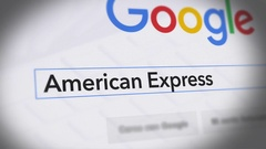 Google Search Engine - Search For American Express Stock Footage