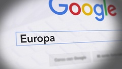 Google Search Engine - Search For Europa Stock Footage