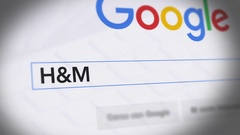 Google Search Engine - Search For H&M Stock Footage