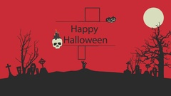 Halloween Logo Reveal Kuvapankki erikoistehosteet