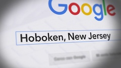 Google Search Engine - Search For Hoboken-New Jersey Stock Footage