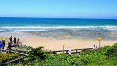 Beautiful nature along Great Ocean Road, Victoria - Australia Stock Footage
