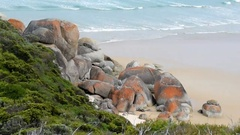 Landscape of Wilsons Promontory, Victoria - Australia Stock Footage