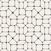Vector Seamless  Mosaic Pavement Pattern Stock Illustration