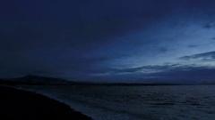 4K. Sunrise over the Black Sea. Pitsunda, Abkhazia, Ultra HD. 4096x2304  Stock Footage