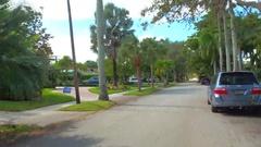 Video of a nice neighborhood Stock Footage