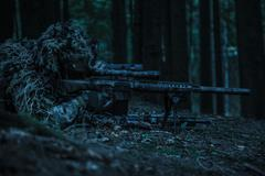 Army rangers sniper pair Stock Photos
