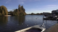 Henley Upon Thames England Stock Footage