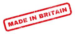 Made In Britain Rubber Stamp Piirros