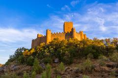 Almourol castle - Portugal Stock Photos