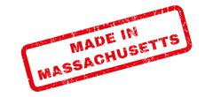 Made In Massachusetts Rubber Stamp Piirros