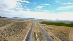 Highway idaho mountains Stock Footage
