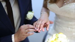 Hands of couple Stock Footage