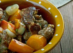 Crock pot Beef Stew Stock Photos