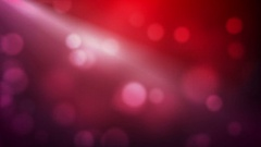 Moving Pink Bokeh Lights With Light Rays Stock Footage