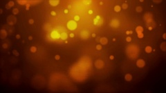 Glittering Golden Defocused Lights Stock Footage
