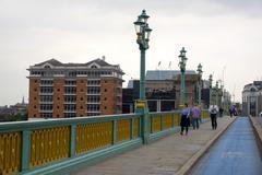 City of London tourist attraction Southwark Bridge Stock Photos