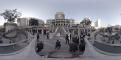 Wedding photography in 1881 Heritage, Hong Kong 360 video VR Stock Footage