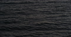 Empty Ocean Water Rippling at Sunset Red Epic 5K Stock Footage