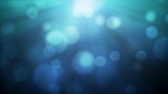 Blue Blurry Defocussed Lights Stock Footage