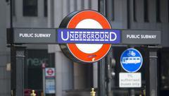 London Underground Station Charing Cross Stock Photos