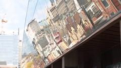 AGO Art Gallery of Ontario building Stock Footage