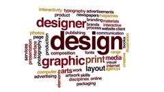 Design animated word cloud Stock Footage