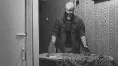Atomic Ironing Bad TV FX Stock Footage