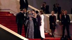 Marion cotillard, xavier dollan, léa Seydoux, Vincent Cassel red carpet Stock Footage