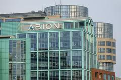 Exclusive Abion Hotel in Berlin Stock Photos