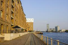 The banks of River Spree in Berlin Stock Photos