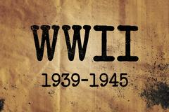 World War 2 Graphic WWII Stock Illustration