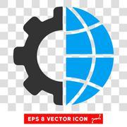 International Manufacture Vector Eps Icon Stock Illustration