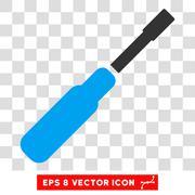 Screwdriver Vector Eps Icon Stock Illustration