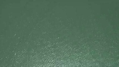 Top view water of the river of cable car . Stock Footage