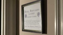 Retail marijuana license colorado 2 Stock Footage