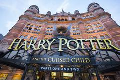 The Harry Potter Musical The Cursed Child at Cambridge Circus in London Kuvituskuvat