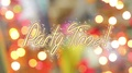 Party Time message on shiny colorful background, celebration theme, postcard 4k or 4k+ Resolution